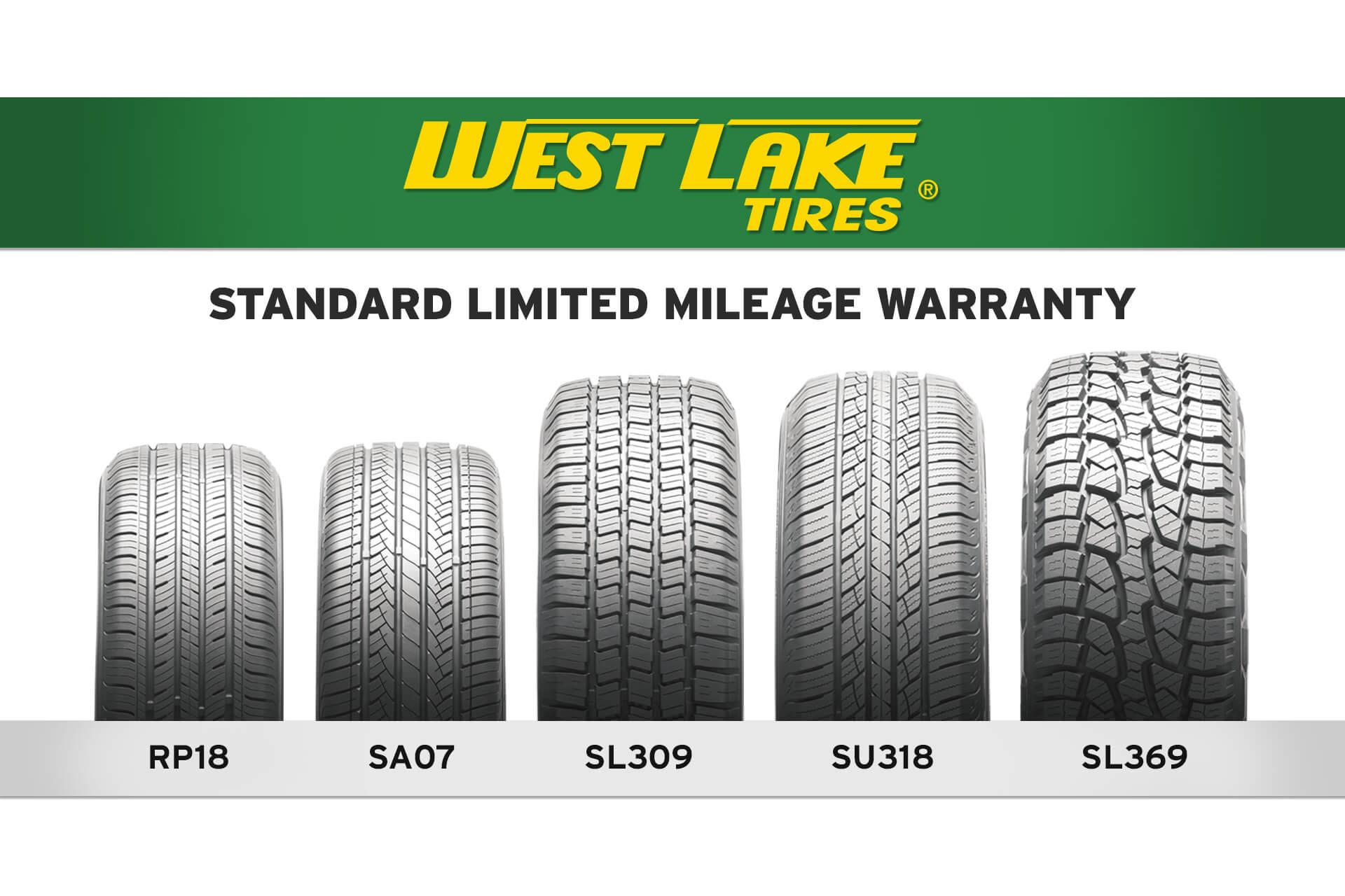 Westlake Tires Standard Limited Mileage Warranty